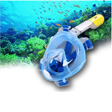 RKD NEW Full Face Snorkeling Mask Scuba Underwater Diving mask Swimming Snorkel Anti Fog Full Face gafas de buceo snorkel Masks