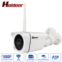 Buy HD 1080P Wifi IP Camera Outdoor Night Vision Wireless Onvif P2P CCTV Surveillance Bullet Security Camera IP 2MP Waterproof IP66 for $41.25 in AliExpress store
