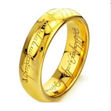 Classic Man & Women Rings Gold & Silver Of The Ring Vintage Jewelry Laser Engraved Stainless Steel Rings