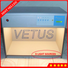 Color assessment cabinet with Color Matching Cabinet 5 light sources good quality
