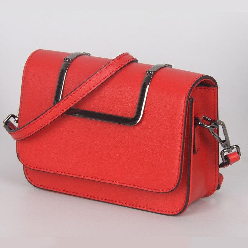 18.5x13.5CM  Summer Of 2016 New Mini Bag Leather Bag Unique Metal Buckles Handle women  messenger bag A2426<br>