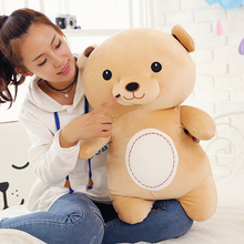 100% new style large 60cm cartoon brown teddy bear plush toy doll soft throw pillow Christmas gift b1248