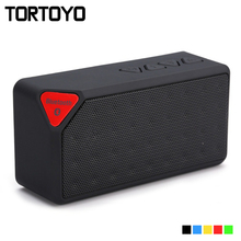 X3 Portable Wireless Bluetooth Speaker Outdoor Sports Mini Stereo Subwoofer Support TF Card FM Radio Aux Phone USB PC Speakers(China)