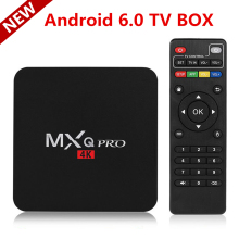 2017 New MX PRO Android 6.0 TV Box KODI 17.3 Amlogic S905X Quad Core 1GB/8GB H. 265 4K 1080i/P Smart Media Player MXQ PRO PK X96