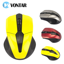 VONTAR 2.4G USB Wireless Mouse Optical Mice For Computer PC Laptop Mouse TV Android Box 1000 DPI(China)