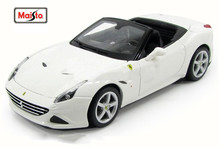 Maisto Bburago 1:24 White California T Open Top Diecast Model Car Toy New In Box Free Shipping