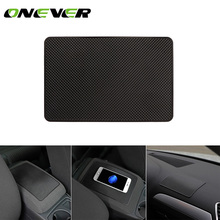 Universal Car Interior Sticky Silicone Anti-Slip Mat Anti-Slip Dashboard Sticky Pad Non Slip Mat For Phone Coin Sunglass Holder(China)
