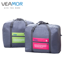 VEAMOR 36L Oxford Cloth Material Travel Luggage Bags Large Capacity Waterproof Folding Outdoor Clothes Storage Bags WB1125(China)