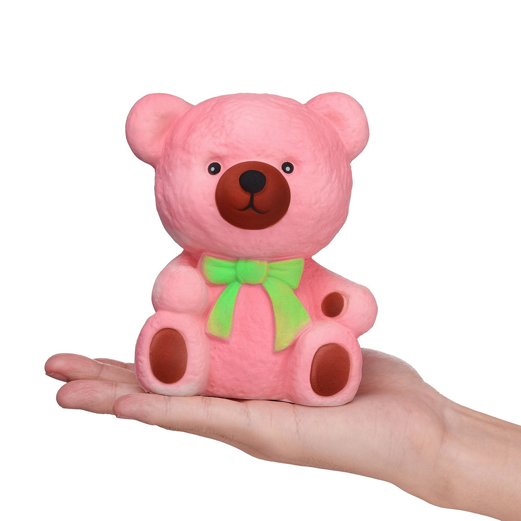 Color Change Super Soft Bear Squishy 7