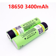 2PCS Liitoakala for panasonic 100% Original 3.7V NCR 18650B 3400 mAh Rechargeable Batteries 18650 Battery/Power Bank/Flashlight