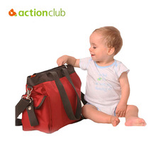 Actionclub High quality European Style Brand fashion diaper bag big nappy bags for mommy multifunctional maternity stroller bag