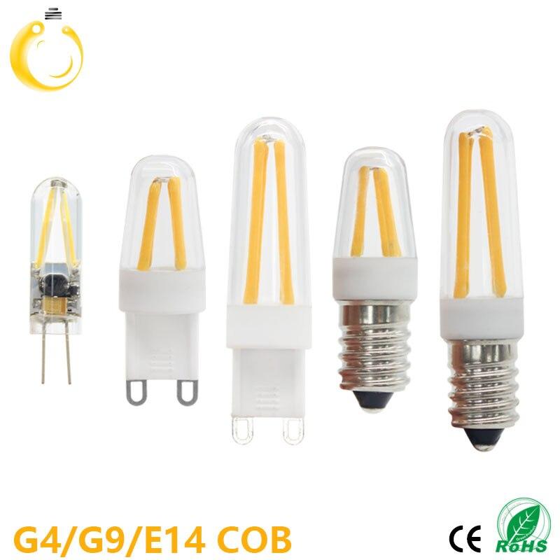 1 PCS G4 LED Bulb G9 LED Bulb E14 Filament Light 220V Glass Bulb Lamp 1.5W 2W 4W Light Lamp<br><br>Aliexpress