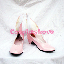 Code Geass Nunnally Vi Britannia Pink Cosplay Shoes Boots Hand Made Custom-made For Halloween Christmas(China)