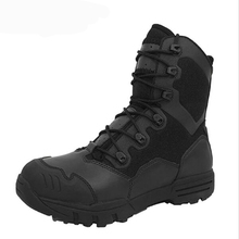 Winter Men Military Boots Leather Special Force Desert Tactical Combat Army Boots Men's Safty Work Shoes(China)