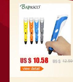 2017 3D Pen Newest 3d Magic pen 3D Model With free 1.75mm ABS filament samples Speed Adjustable 3D Printer pen Intelligence Gift