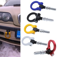 L size  Hot selling Car Racing Towing Hook for BMW &Universal European Trailer Ring Universal Vehicle Towing Hanger Hot Selling