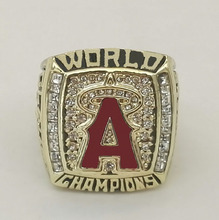Cost Price 2002 Los Angeles Angels World Series Baseball High Quality Sports Replica Championship Ring