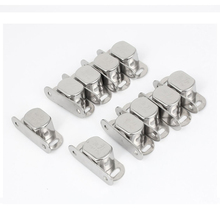 2017 HLES  10 pcs Silver Metal Single magnet lock for cabinet door cabinet