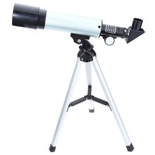 F36050M 360/50mm Outdoor Monocular Astronomical Telescopes Spotting Scope Refractive Astronomical Telescope with Portable Tripod