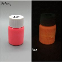 Lumineous Body Paint,RED glow painted fluorescent paint lacquered Halloween photoluminesous paint,luminous paint body painting(China)