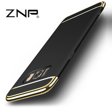 ZNP For Samsung Galaxy S8 Plus S8 Case Cover Back Luxury Cases Hard 3 in 1 Protective Coque Thin For Samsung S8 Plus S8plus case