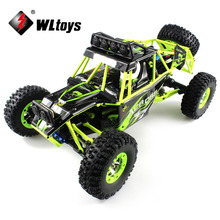 High Speed WLtoys 12428 RC Cars 1/12 4WD Crawler RC Car With LED Light RTR 2.4GHz RC Car Racing Radio Control Cars VS WLtoyA979(China)