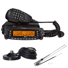 TYT TH9800 Mobile Radio Quad Band Transceiver 50W TH-9800 Car Radio Walkie Talkie 29/50/144/430MHz Four Transmitting Bands 50KM(China)