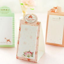 2pcs/lot Vintage Sweet Dream series Mini Standing notepad / DIY Multifunction message note Memo sticky GT295(China)