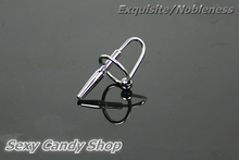 Buy 42/8MM Metal Cock Ring Butt Plug&Urethral Sound Sex Toys 100% Stainless Steel Sex Products Penis Plug Catheter Chastity Male