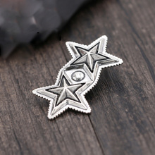 925 sterling silver jewelry fashion male and female stars modern trend pendant sweater chain pendant