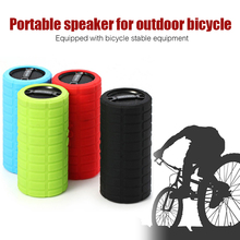 New Bike Bicycle Bluetooth MP3 Player Audio Subwoofer Outdoor Sports Cycling Mini Small Speaker Loudspeaker for IOS Android AUX