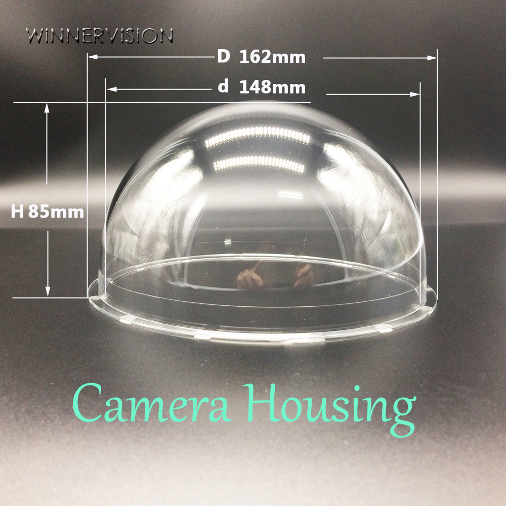162x85mm CCTV Security Surveillance Acrylic Dome  Camera Housing Cover  Protect Dust Lens Protect Housing<br><br>Aliexpress