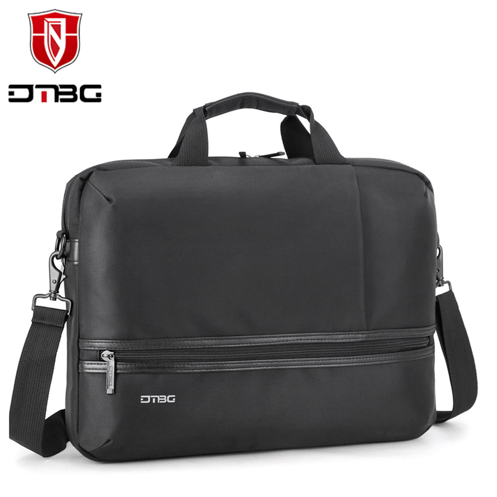 DTBG 15.6 Inch Men Water-resistant Nylon  Classic Briefcase Handbag Business Laptop Shoulder Messenger Bag for Lenovo Dell Asus<br><br>Aliexpress