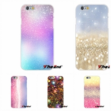 For Sony Xperia Z Z1 Z2 Z3 Z5 compact M2 M4 M5 Aqua Pastel Sparkle Glitter Artwork Kawaii Ultra Thin Rubber Silicone Phone Case
