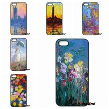 For iPhone 4 4S 5 5C SE 6 6S 7 Plus Galaxy J5 J3 A5 A3 2016 S5 S7 S6 Edge Claude Monet Impressionism Painter Hard Phone Cases