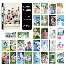 Youpop KPOP BTS 2017 SUMMER PACKAGE Album LOMO Cards K-POP New Fashion Self Made Paper Photo Card HD Photocard LK511(China)