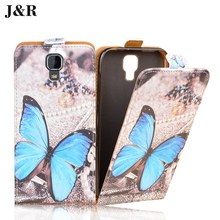 Brand J&R Luxury Leather Case Uhans A101 UHANS A101S 5.0 inch Flip Cover Painted Phone Bag - TOP&CASE store