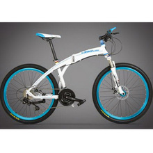 L260103 /27 speed/26 inches/Folding Mountain Bike/Aluminum alloy bicycle frame/Multi-color optional/Outdoor riding