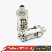 Volcanee Taifun GT 3 III Mini Rebuildable Tank Atomizer Clone with Extra Glass Tube VS Kayfun v5 RTA for 510 E Cigarette Box Mod