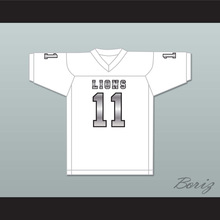 Chad Kelly 11 EMCC Lions White Alternate Football Jersey(China)