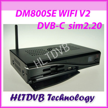 DM800se V2 Cable Receiver DM800HD se V2 with SIM2.20 300Mbps Wifi Motherboard REV E dm800se-c wifi V2 Free Shipping