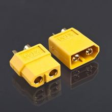 2 Pair XT60 Male & Female Bullet Connectors Plugs For RC LiPo Battery