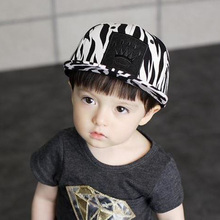 2016 Kids Summer Hats with leopard and imperial crown  Baseball Hat Children Snapback Caps Hip Hop Boys Sun Caps Girls