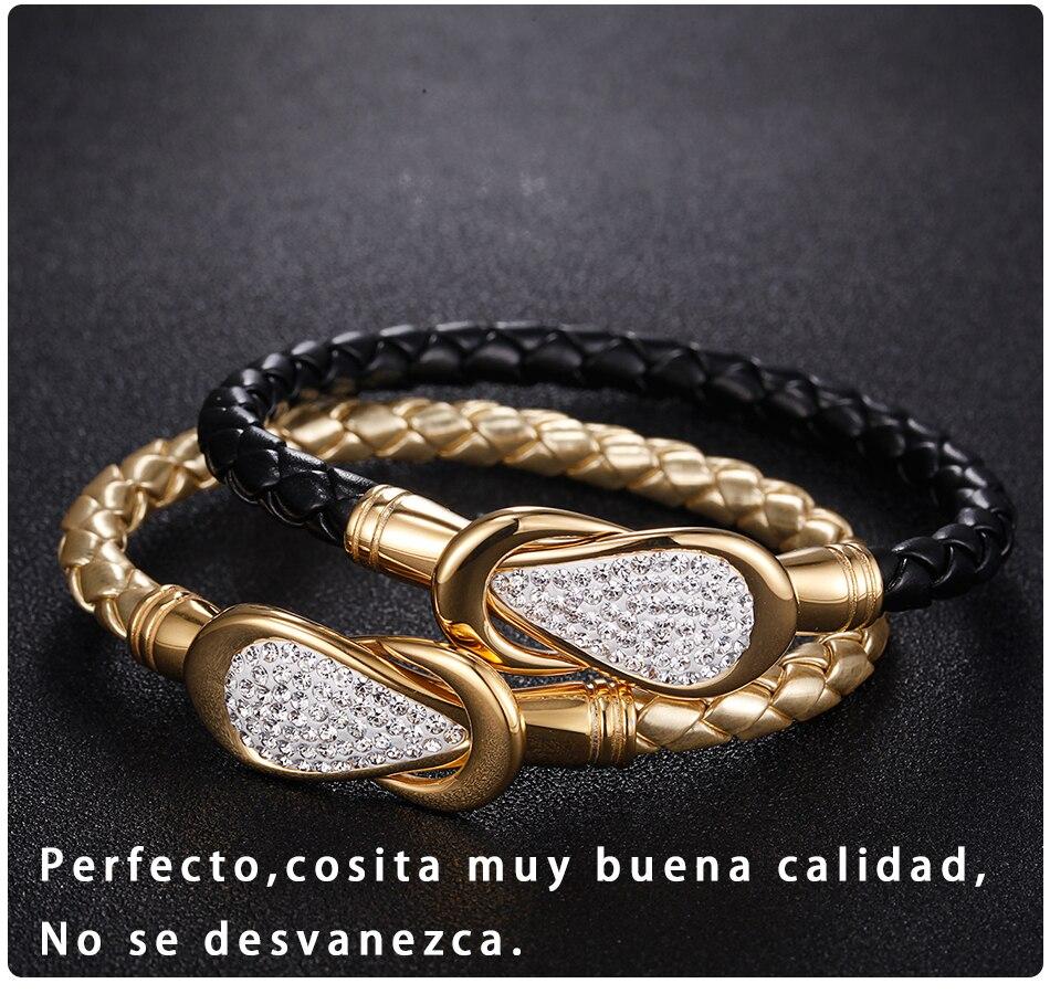 Women Leather Bracelet PU (4)