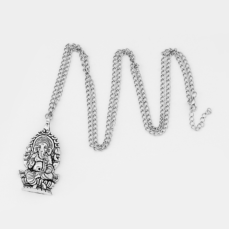 10Pcs tipo antiguo plata tibetana elefante garra de langosta broche resultados 23x11x2mm