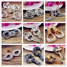 141123124,coat buttons rhinestone buttons Clothing accessories Jewelry Accessories Buckle Button(China)