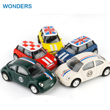 Buy Mini Cooper Car Styling Alloy Kids Toys Children Juguetes Brinquedos Para Criancas Scale Models Pull Back toy for $4.45 in AliExpress store