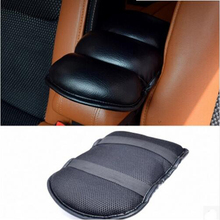 Car Armrests Cover Pad Vehicle Center Console Arm Rest Seat Pad For Mini Cooper R50 R52 R53 R55 R56 For Porsche Cayenne Macan