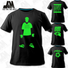 Nightclub jabbawockeez mask t-shirt The first group Dance Club luminous shirt
