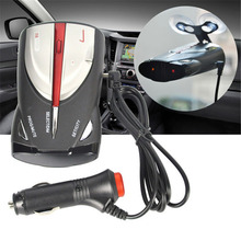 Car Radar Detector Mobile Speed Testing Voice Alert and Speed Alarm Detection 360 Degree Led display 16-Band(China)